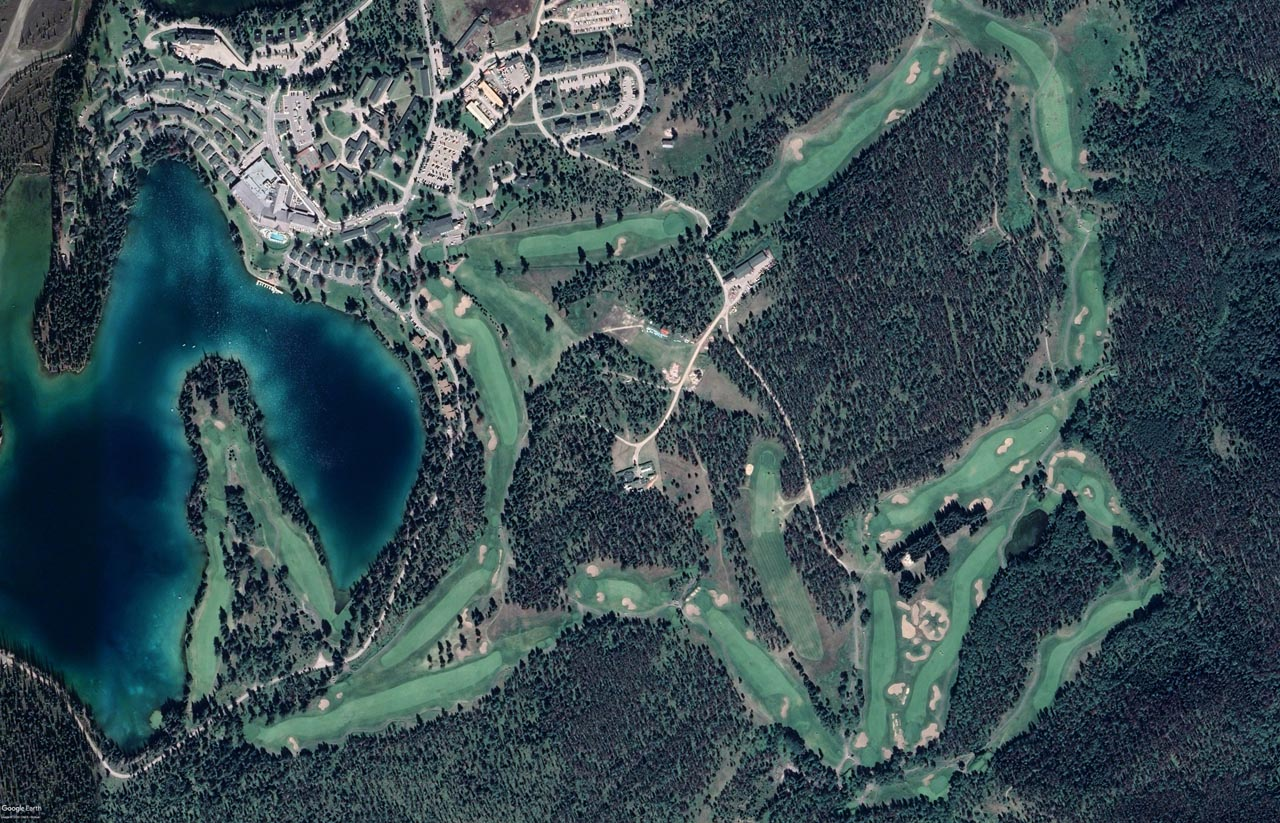 Golf Course Aerial Challenge