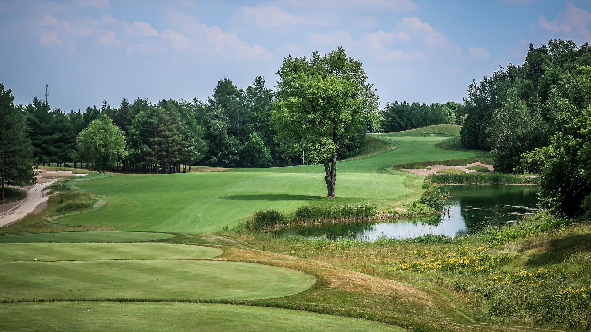 TPC Toronto at Osprey Valley: A Composite Routing
