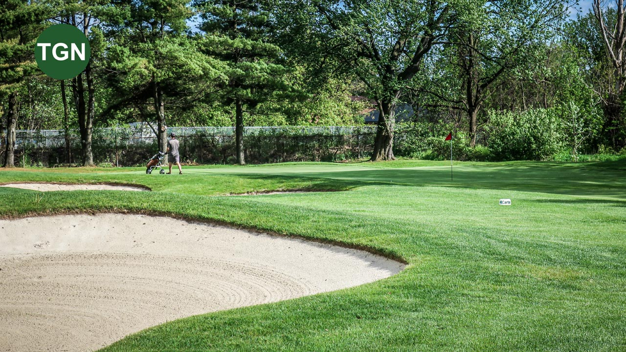 Lakeview Hole 7 Green