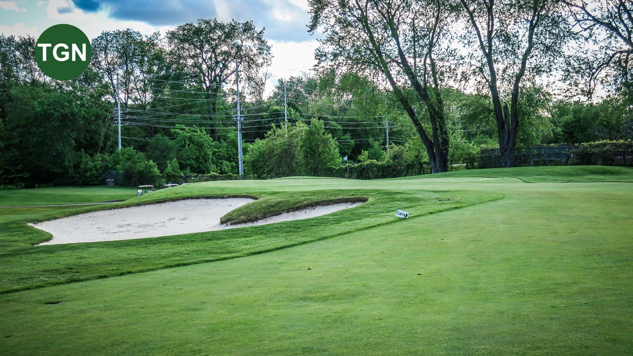 Lakeview Hole 15 Bunker