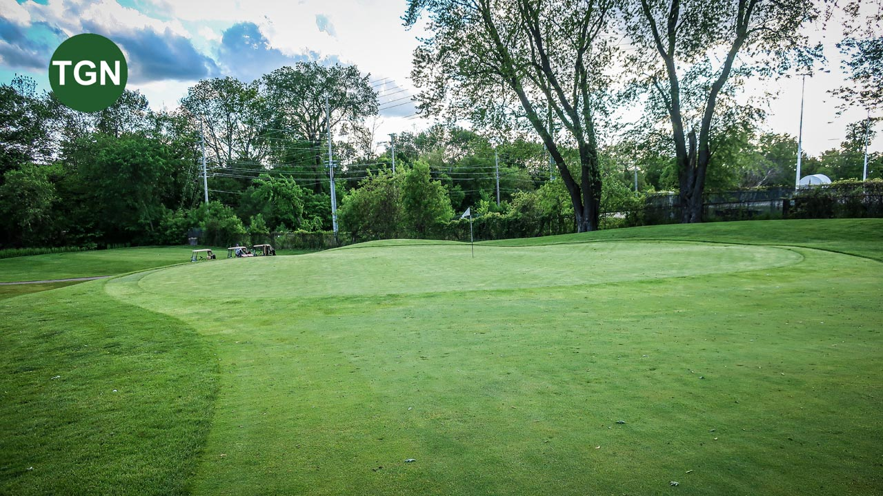 Lakeview Hole 16 Green